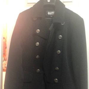 Marvin Richards military style coat size small